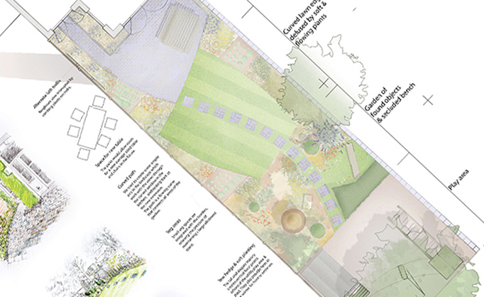 Summertown - Garden Design Plan