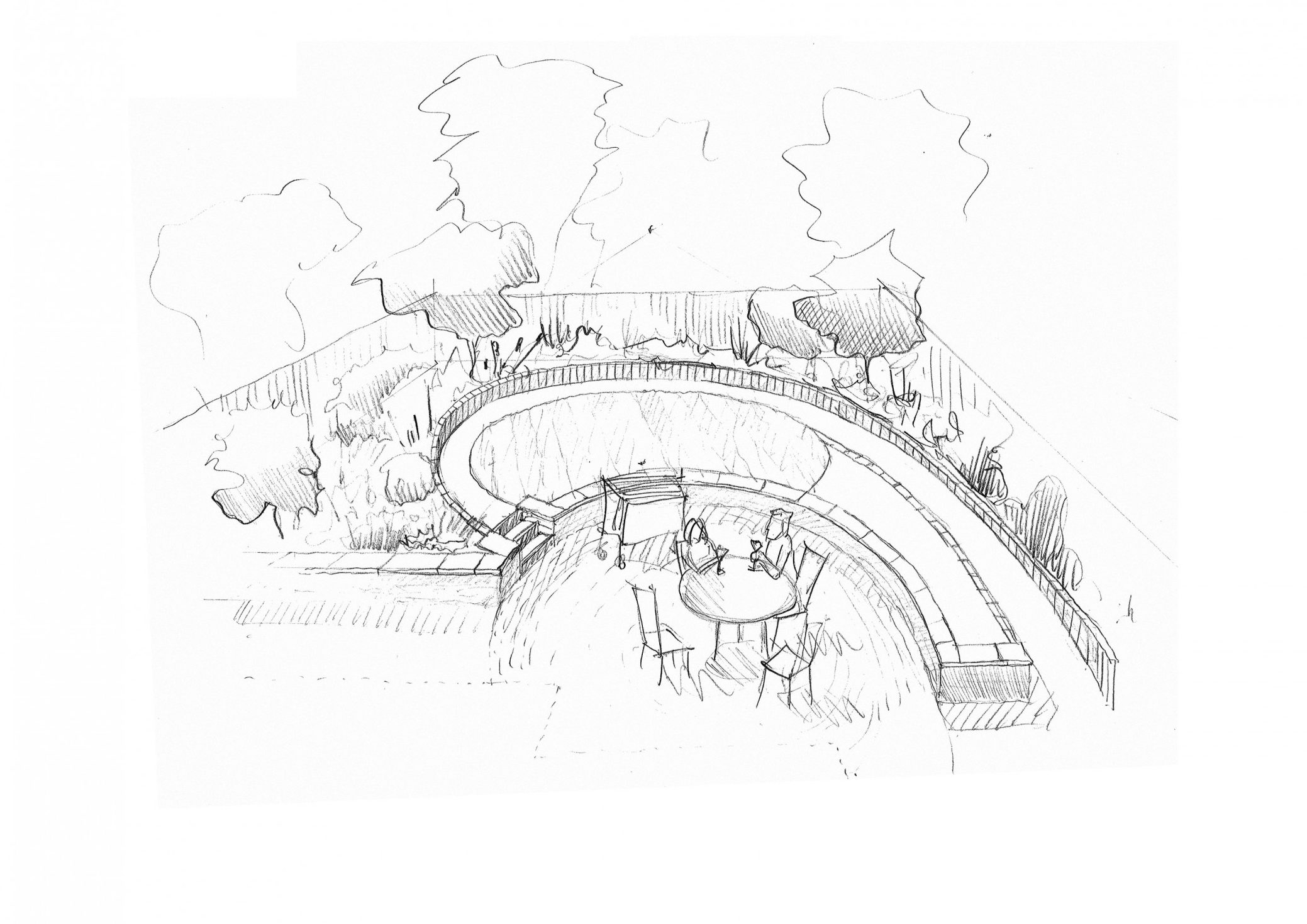 Thumbnail Garden Sketch Long Crendon